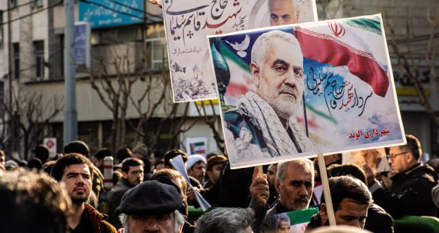 Qassem Soleimani Guerra Irã Protestos Oriente Médio