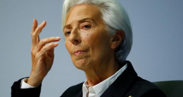 Presidente do BCE, Christine Lagarde