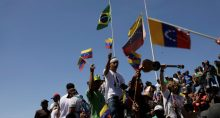 Protestos Venezuela Brasil