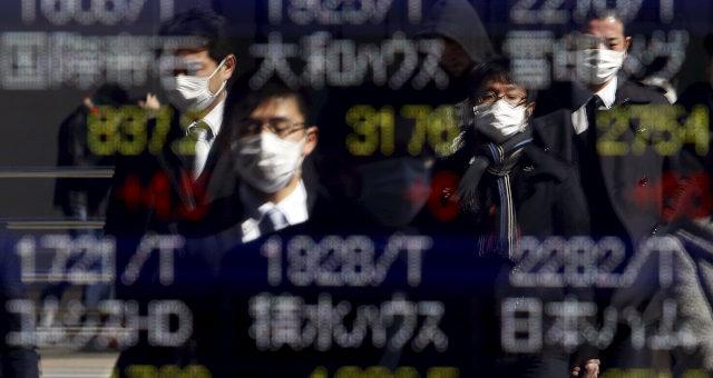 Coronavírus Máscaras Saúde Mercados Ásia