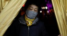 Coronavírus Máscaras China Ásia