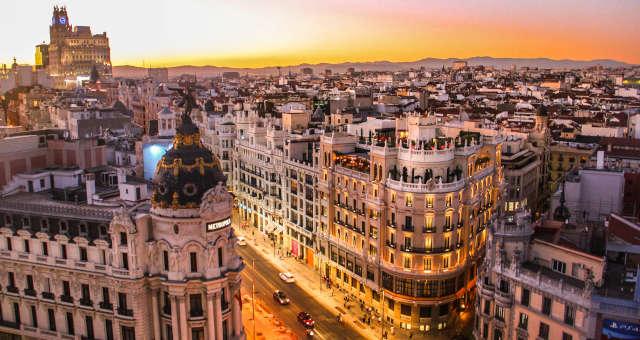 Madrid Espanha Europa Turismo