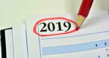 2019 agenda