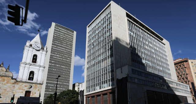 Banco Central da Colômbia em Bogotá