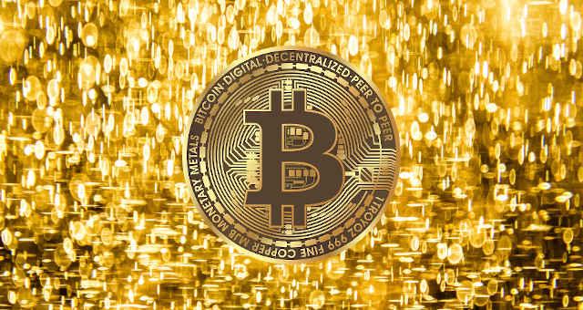 bitcoin ouro dourado