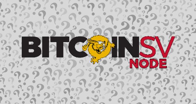 bsv bitcoin sv ponto de interrogação dúvida