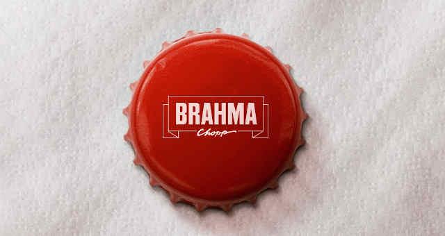 Tampa da cerveja Brahma, da Ambev