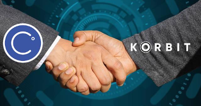celsius network korbit parceria