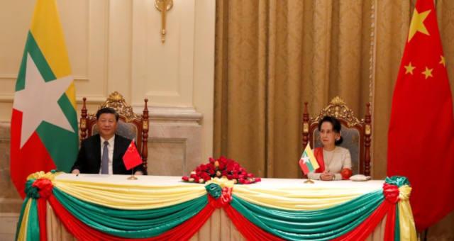 China e Mianmar