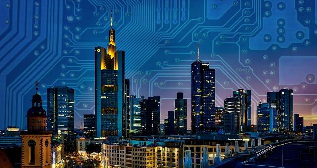 cidade blockchain rede tecnologia futuro