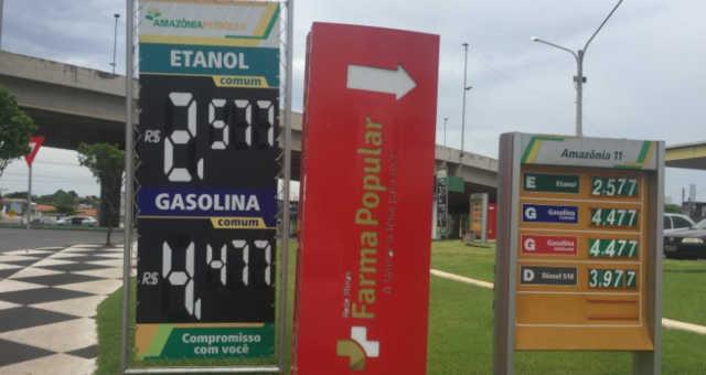Combustíveis/Postos/Etanol