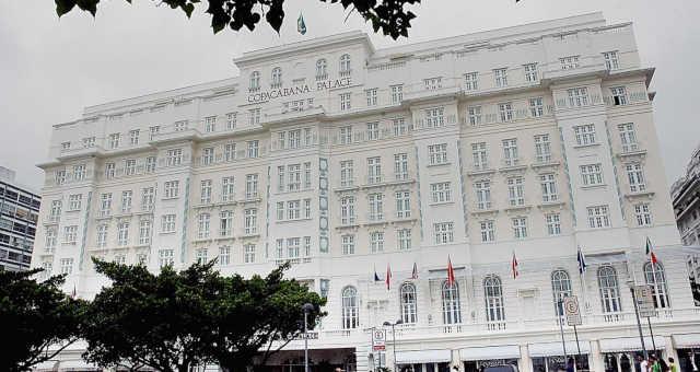 Copacabana Palace Rio de Janeiro Hotel Hotéis