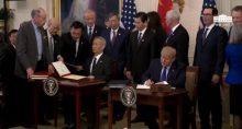 Donald Trump Liu He Acordo Comercial