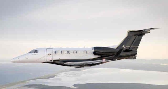 Jato executivo Phenom 300 da Embraer
