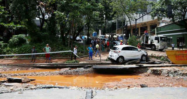 Enchente Chuva Minas Gerais Belo Horizonte