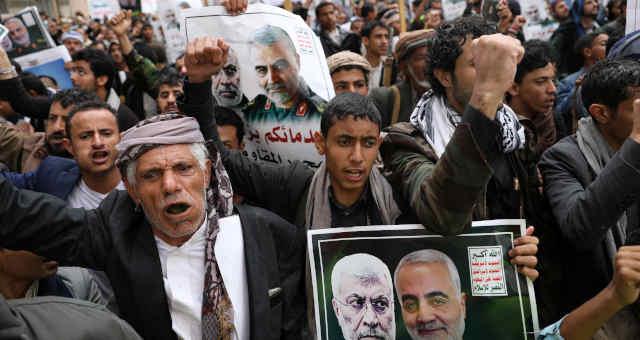 Irã Morte de Qassem Soleimani Protestos