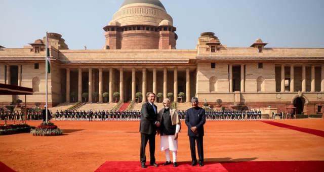 Jair Bolsonaro, índia