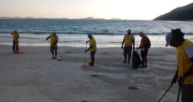 Limpeza Praia