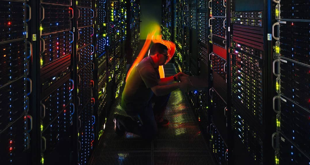Serviço de servidores da Locaweb