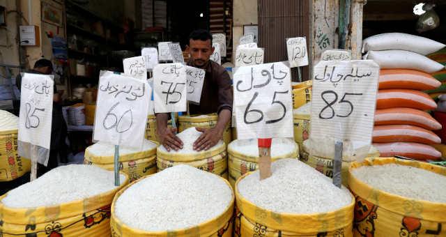 Mercados de alimentos em Karachi, no Paquistão