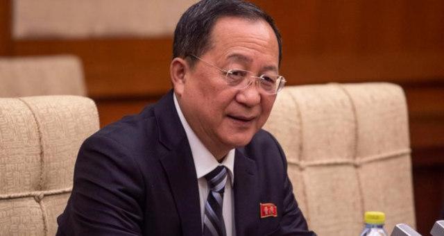 Ministro de Relações Exteriores da Coreia do Norte, Ri Yong Ho