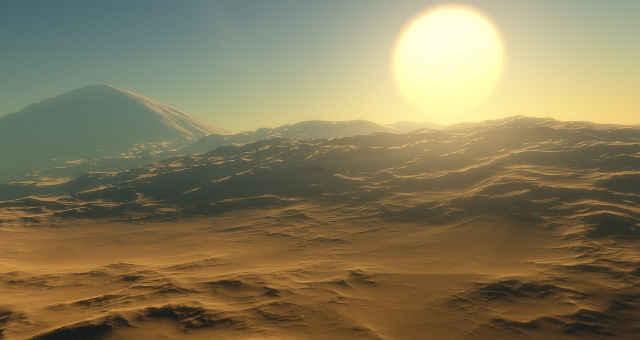 planeta descoberta inexplorado