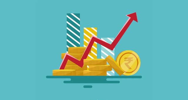 rendimento gráfico alta investidor investimento moedas retorno