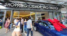 Shopping Cidade de São Paulo Cyrela Commercial Properties CCPR3