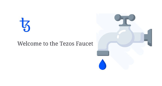tezos foundation faucet token