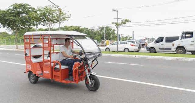 Uber tuk tuk em Vitória, Espírito Santo