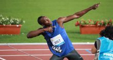 Usain Bolt, recordista jamaicano de medalhas nas Olimpíadas