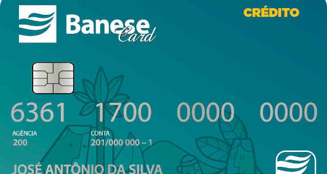 Cartão de crédito Banese Card, emitido pela SEAC