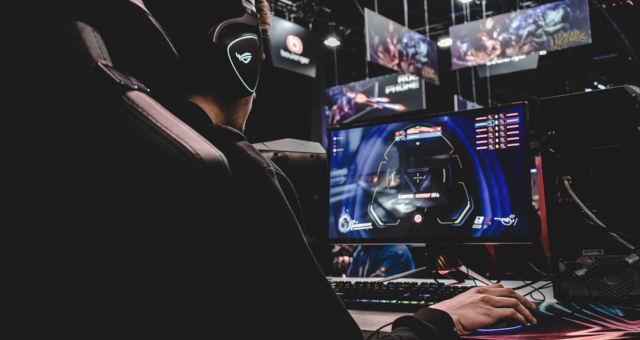 e-sports videogame