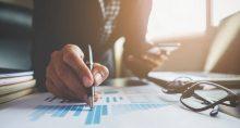 investimento estatísticas gráfico análise