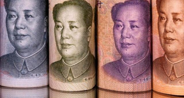 Yuan Moedas China