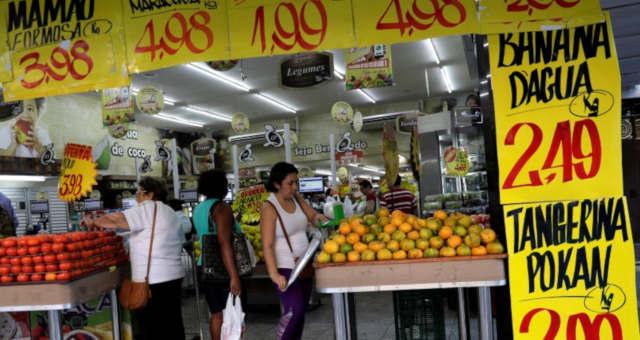 Consumo Alimentos Inflação