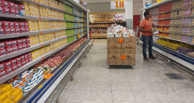 Supermercados Consumo Alimentos