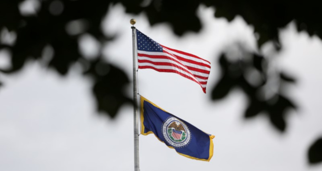 Bandeiras EUA Federal Reserve