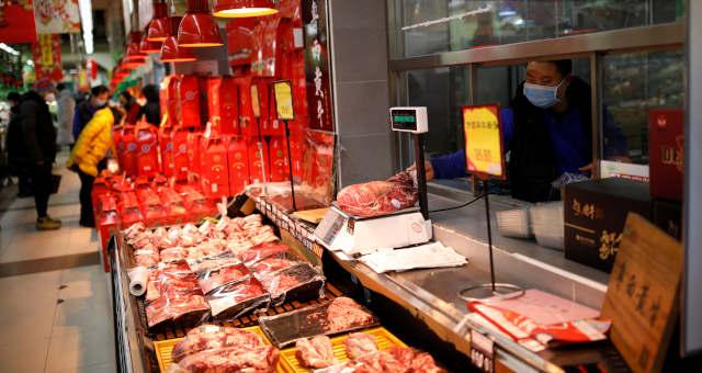 Consumo Ásia Carnes Alimentos