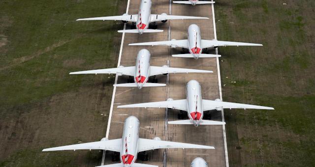 Avião Setor Aéreo