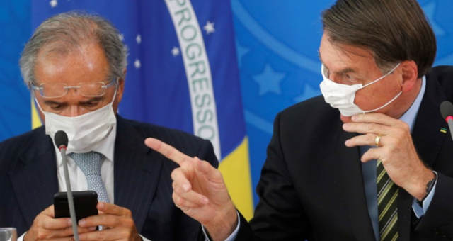 Bolsonaro Paulo Guedes