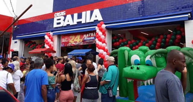 Loja da Casas Bahia, bandeira da Via Varejo