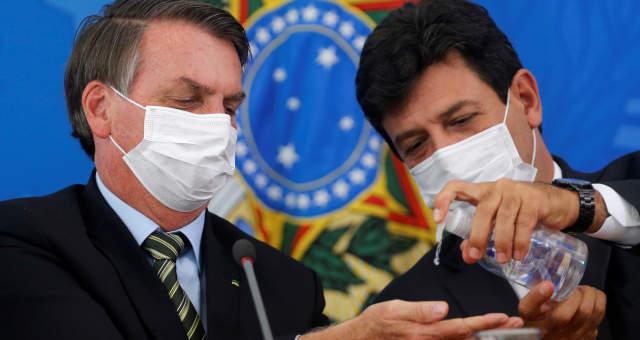 Jair Bolsonaro Luiz Henrique Mandetta
