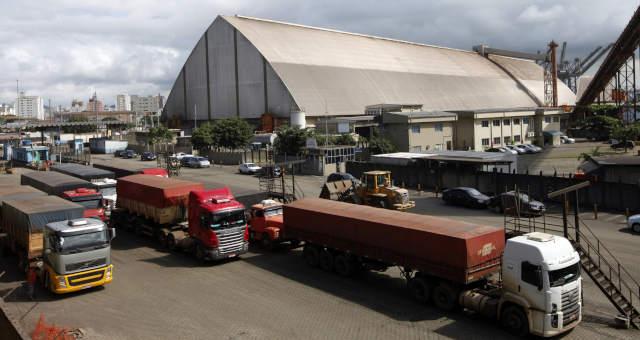 Porto de Santos, Grãos Soja