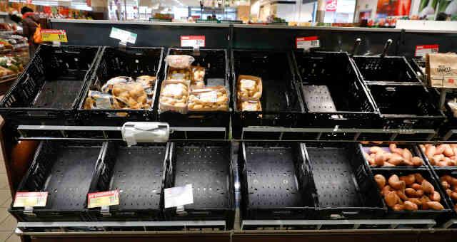Supermercado Desabastecimento Coronavírus