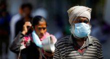 Índia Coronavírus Máscara