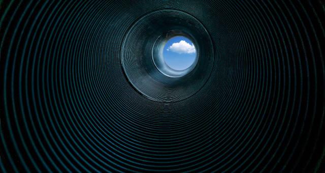 Mundo Recessão Túnel
