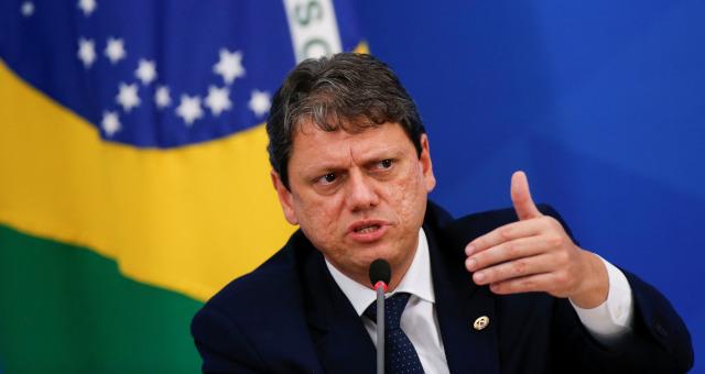 Tarcísio Freitas Ministério da Infraestrutura