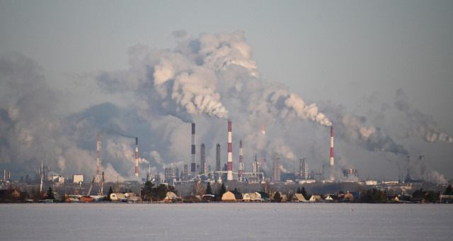 Petróleo Commodities Poluição