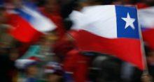 Bandeira do Chile América Latina